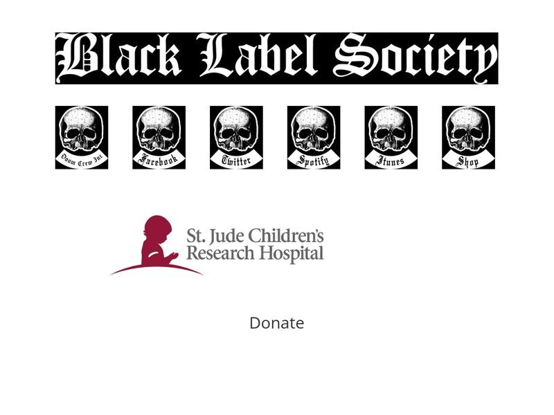 Screenshot von http://www.blacklabelsociety.com