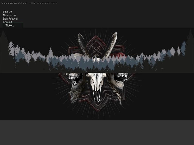 Screenshot von http://www.metalacker.de