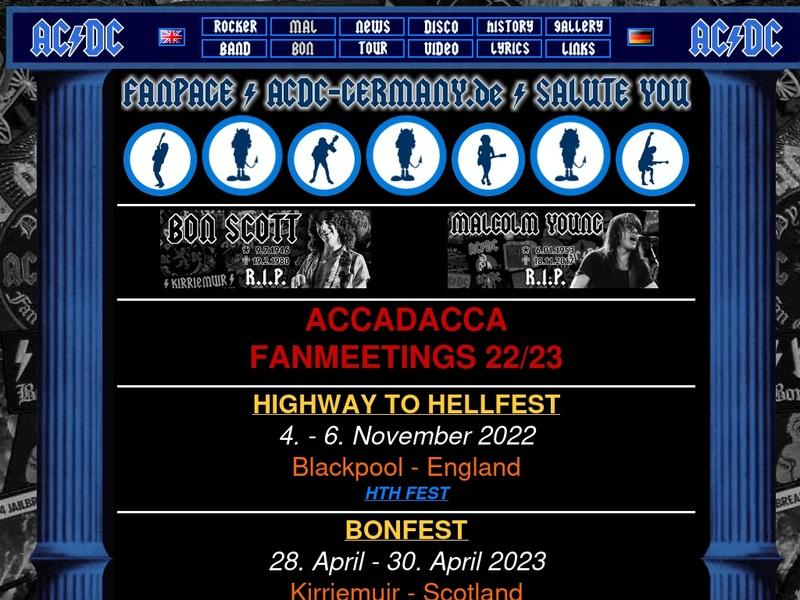 Screenshot von http://www.acdc-germany.de